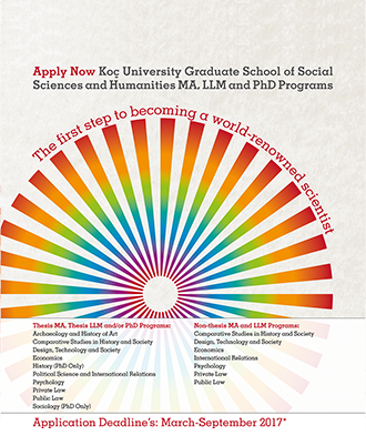 Koç University Graduate School of Social Scienes and Humanities MA, LLM and PhD Programs
